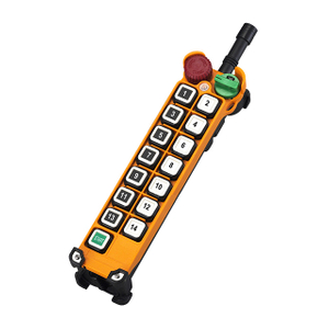 14 Buttons Industrial Wireless Single Speed Crane Control