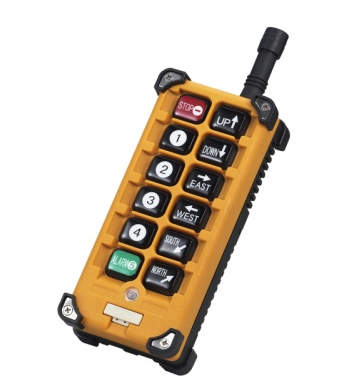 How is the prospect of wireless crane control?