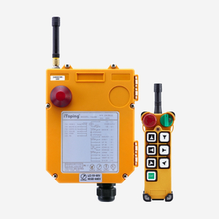 Industrial 7 Buttons Wireless Dual Speed Crane Remote Control